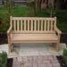 Inscribed Wargrave Bench